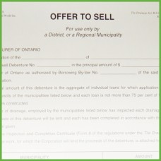 Item 1119 - Offer to Sell - Form 10