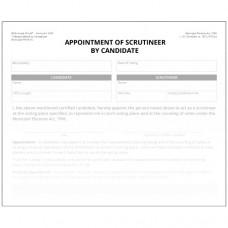 Item 1234F - Nomination de représentant par candidat