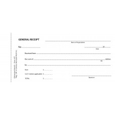 Item 0437 - General receipt book - 50 in duplicate