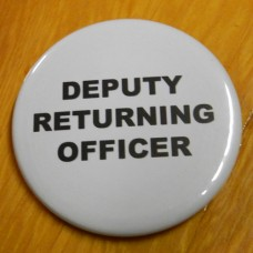 Item 1334 - Badge - Deputy Returning Officer