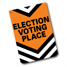 Item 1236 - Election voting place poster