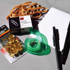 Item 1354/1 - Stationery packet - assorted supplies