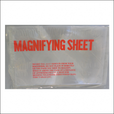 "Item 1366 - Magnifier sheet - 7""x 10"""