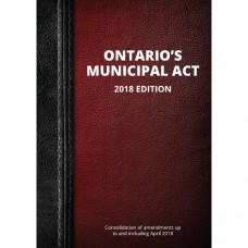 Ontario's Municipal Act, 2018 Edition - Item 0010