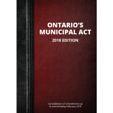Ontario's Municipal Act, 2018 Edition - Item 0010