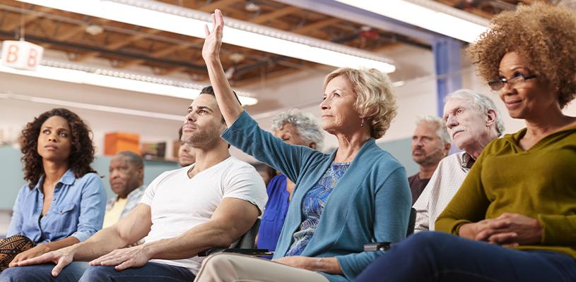 Building consensus in public meetings