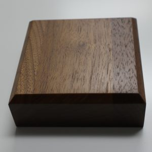 Hardwood Sounding Block for gavel