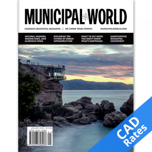 One year subscription to Municipal World magazine-CDN Rates