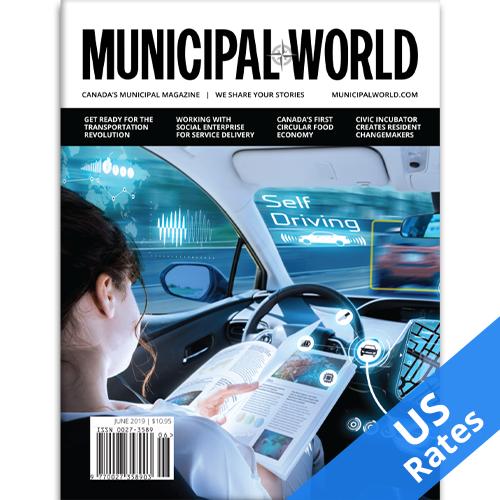 One year subscription to Municipal World magazine-US Rates