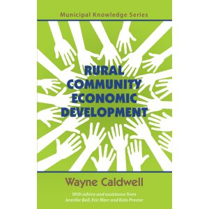 Rural Community Economic Development by Wayne Caldwell Cover