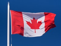 Polyester Canadian Flag 3'x5'