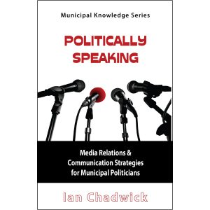 Politically Speaking by Ian Chadwick Cover