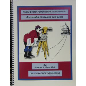 Public Sector Performance Measurement: Successful Strategies and Tools Cover