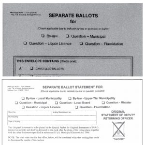 Statement and Envelopes Kit - Separate Ballot Item Sten/4
