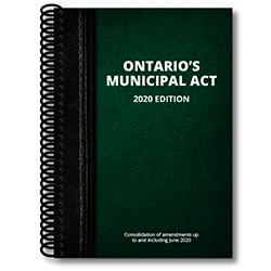 Ontario Municipal Act 2020