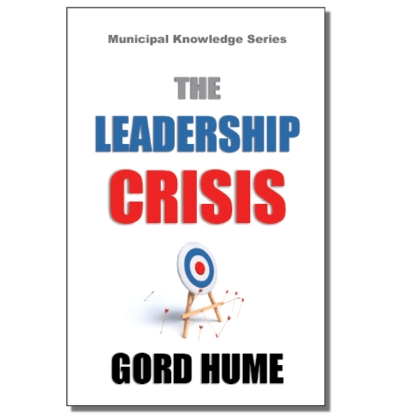 Leadership Crisis, Gord Hume, Book Cover