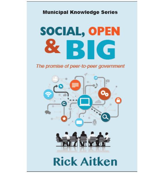 Social, Open & Big, Rick Aitken, Book Cover