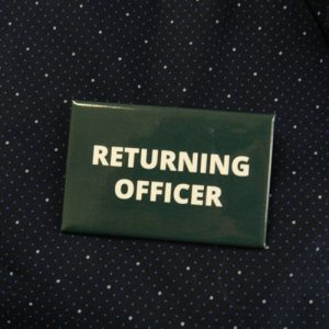 Item 1330 - Badge - Returning Officer