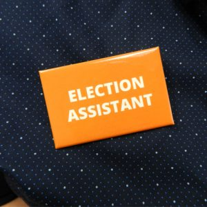 Item 1333 - Badge - Election Assistant