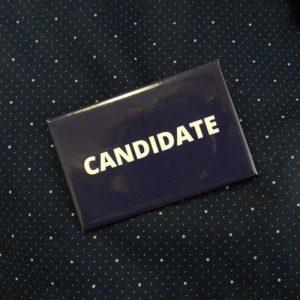 Item 1337 - Badge - Candidate