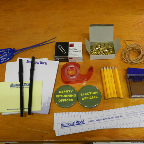 Deluxe Stationery Pack for Voting Stations