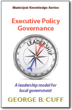 Executive Policy Governance by George B. Cuff Cover