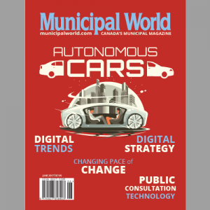 Municipal World Magazine June 2017 Issue featuring: Autonomous Cars