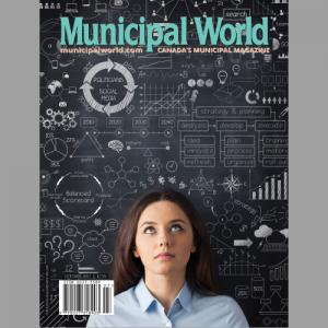 Municipal World Magazine October 2017 Issue cover: Politicians & Social Media