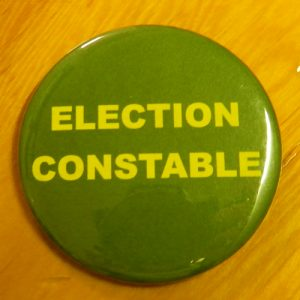 Item 1336 - Badge - Election Constable