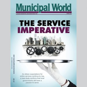 Municipal World Magazine's June 2016 issue cover featuring: The Service Imperative