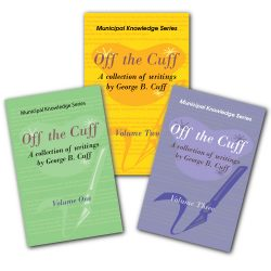 Off the Cuff Collection featuring volumes 1,2 &3 by George B. Cuff