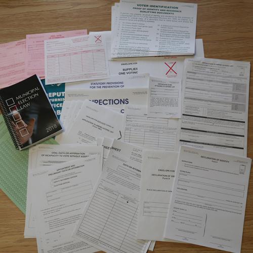 Municipal Worlds English Voting Forms Kit