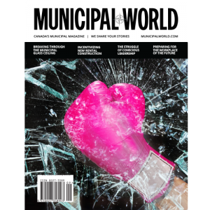 Municipal World Magazine October 2018 Cover - Breaking through the municipal glass ceiling