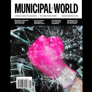 Municipal World Magazine October 2018 Cover - Breaking through the municipal glass ceiling