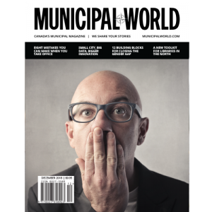 Municipal World Magazine December 2018 Cover - Eight Mistakes you can make when you take office