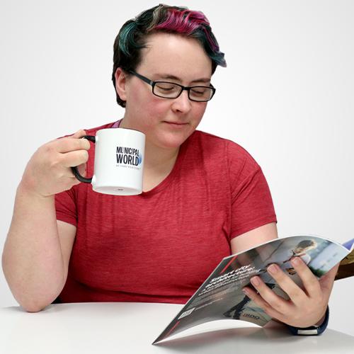 Exclusive Municipal World Coffee Mug - Ceramic