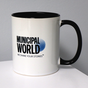Exclusive Municipal World Coffee Mug - Ceramic