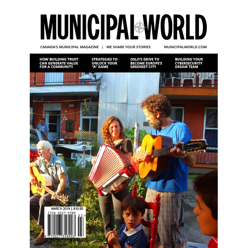 Municipal World Magazine March 2019 Cover Loosening the local decision-making reins