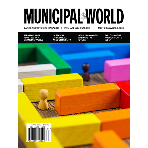 April Issue 2019 Magazine cover How Building Trust can Generate Value for a Community