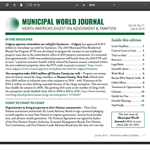 Municipal World Journal