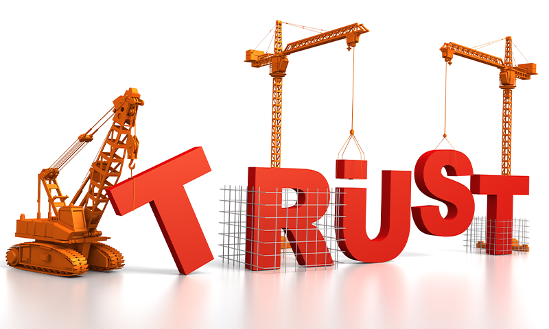 10 ways to build trust that lasts