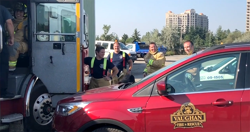 Project by Vaughan Fire & Rescue Service garners IPAC award