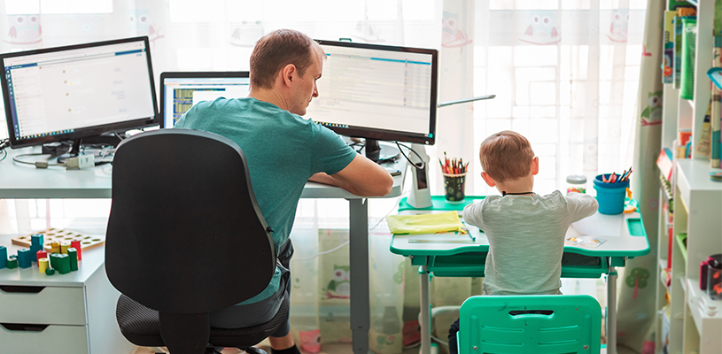 Will working from home become the new normal in the post COVID-19 municipal workforce