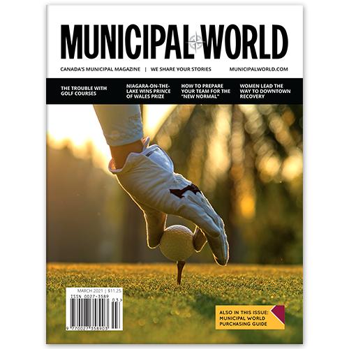 Municipal World Magazine - March 2021 Cover