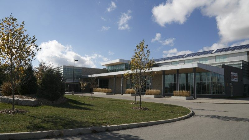 Middlesex Centre (Municipality of) Wellness Centre - Front Angle Shot
