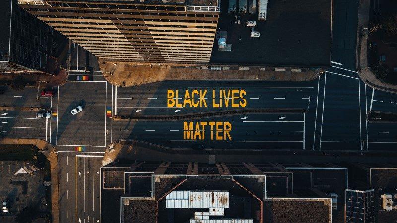 BLM street art image - Stop Motion Creative Co
