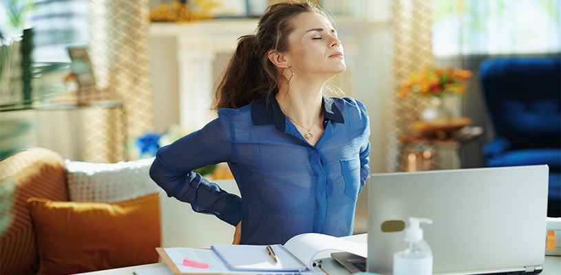 Ergonomic issues and solutions for hybrid work